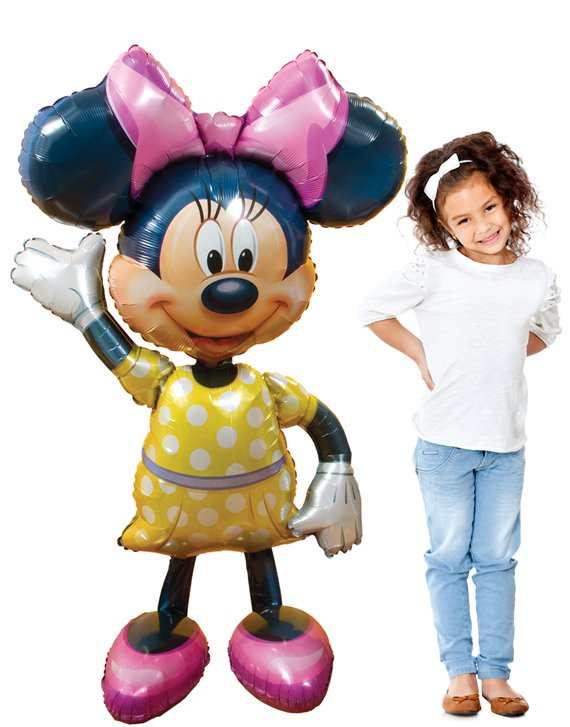 Globo Caminante Minnie Mouse - Metalizado 134
