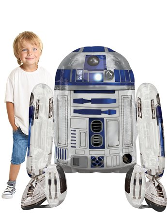 Globo Airwalker Star Wars R2-D2-38''