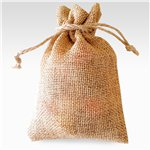 Bolsa de Arpillera color Natural - 17 x 12cm