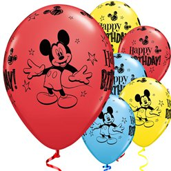 "Globos de Mickey Mouse-11"" látex"