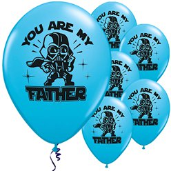 Globos 'You Are My Father' de Star Wars - Látex 28cm