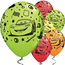 Globos Cars Disney - Látex 28cm