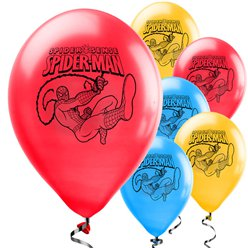 "Globos de Spiderman-11"" Látex"