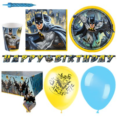 Pack de fiesta Batman-Pack Deluxe para 16