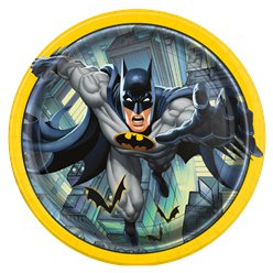 Platos de Papel de Batman 23cm
