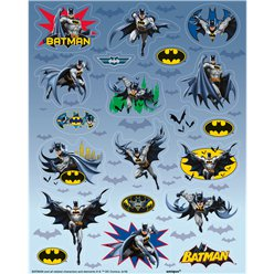 Hoja de Stickers de Batman
