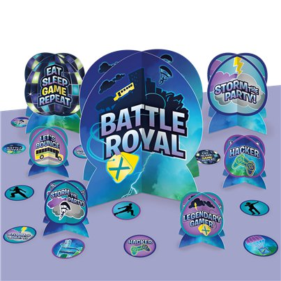 Kit de decoración de mesa de Battle Royal
