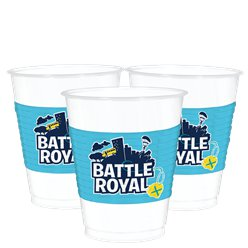 Vasos de plástico Battle Royal - 473ml