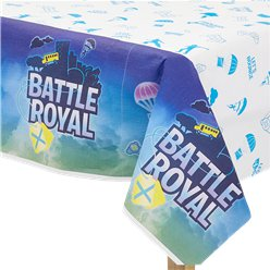 Mantel de papel Battle Royal - 1.35m x 2.4m