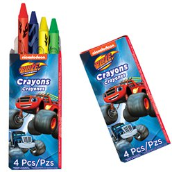 Packs de crayones de Blaze y los Monster Machines