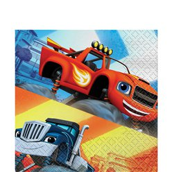 Servilletas de Blaze y los Monster Machines- Doble capa de papel