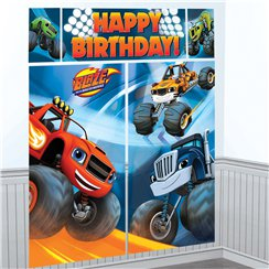 Fondo decorativo de Blaze y los Monster Machines - 1,65m