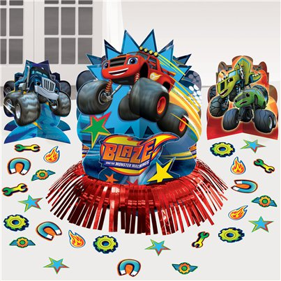 Kit decorativo para la mesa de Blaze y los Monster Machines