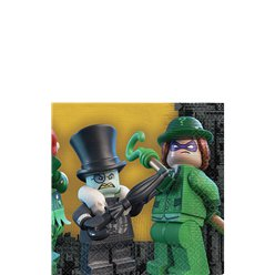 Servilletas de Papel Lego Batman-25cm