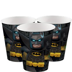 Vasos Lego Batman-Vasos de papel de 266ml