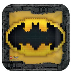 Platos de Papel Lego Batman - 23cm