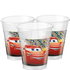 Disney Cars 3 - Vasos Plásticos de Fiesta 200ml