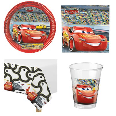 Pack de Fiesta Disney Cars - Pack AHORRO para 8