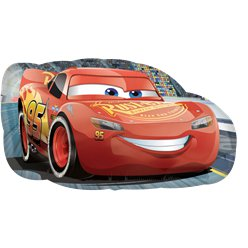 Globo Superforma Cars El Rayo McQueen