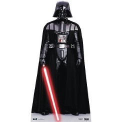 Figura de cartón de Darth Vader de Star Wars-1,95m