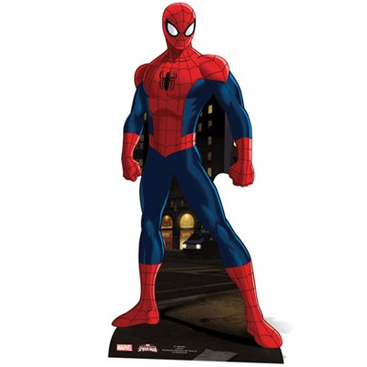 Figura de cartón de Spiderman-1,73m