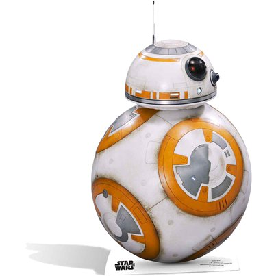 Mini Figura de cartón de BB-8 de Star Wars-94cm