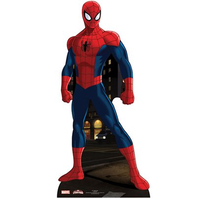 Mini figura de cartón de Spiderman-96cm
