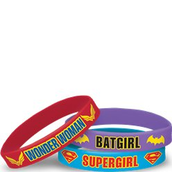 Pulseras de goma DC Super Hero Girls