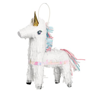 Mini Decoración Piñata Unicornio - 19cm