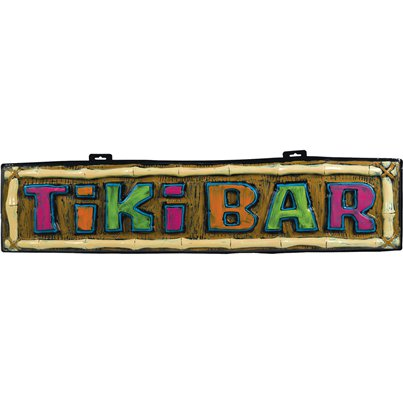 Cartel Bar Tiki - Decoración Hawaiana 1m