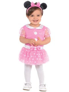 Set rosa de Minnie Mouse de Jersey