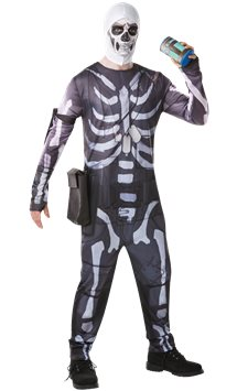 Disfraz Skull Trooper Fortnite - Disfraces Adultos