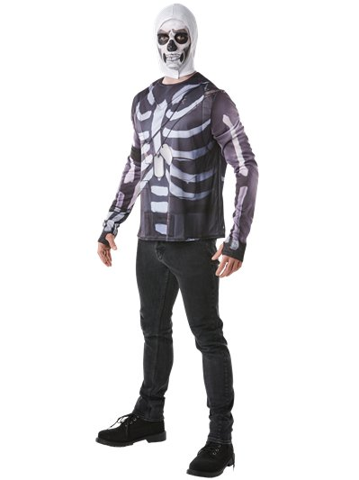 Kit de Fortnite Skull Trooper - Talla Pecho 88-96cm