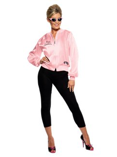 Chaqueta Damas de Rosa de Grease