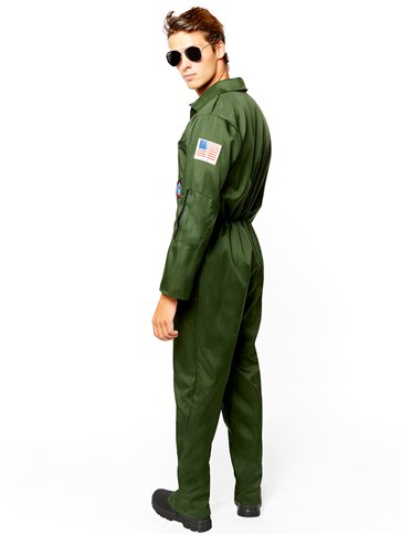 Disfraz Aviador Top Gun - Disfraces Adultos back