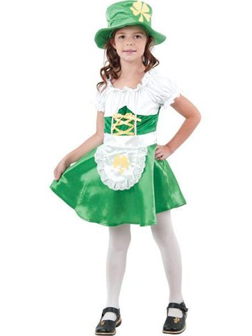 5de598cb4 Disfraz Niña Duende Leprechaun - Disfraces Niños | Party City