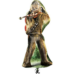 Globo Superforma Chewbacca de Star Wars-38'' metalizado