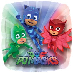 Globo Superforma PJ Masks-metalizado 28