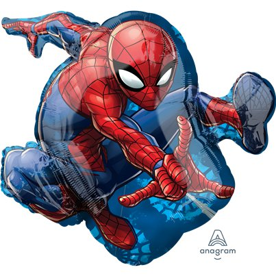 Globo Superforma metalizado de Spiderman-73cm