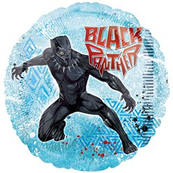 Globo Black Panther Metalizado - 45cm