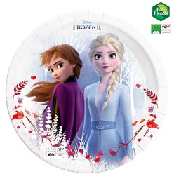 Platos de papel compostable de Frozen - 23cm