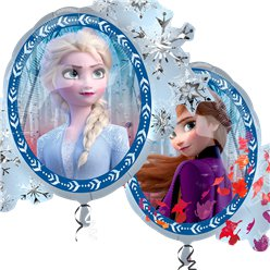 Globo superforma de Frozen 2 de Disney - 76cm - Papel de aluminio