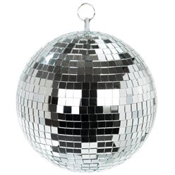 Brillo de lujo bola disco decorativa colgante - 20cm