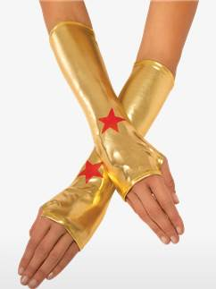 Guantes de Wonder Woman