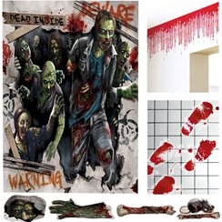 Kit decorativo de Zombis