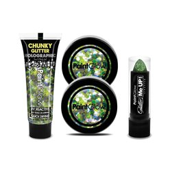 Kit Lucky Leprechaun Pinta labios y Purpurina