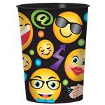 Vasos Plásticos para Favores Smiley - 455ml