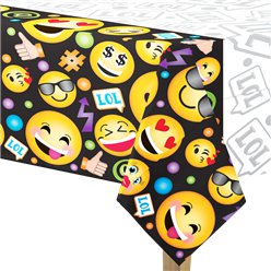 Mantel Plástico Smiley 1,4m x 2,4m