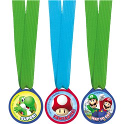 Mini Medallas de Super Mario