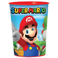 Vaso plástico Super Mario - 473ml